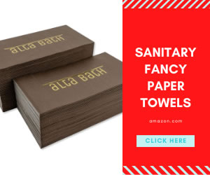 Sanitary fancy paper towels